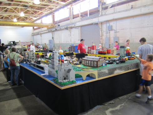 Midwest Lego Train Club at Brickmania in Minneapolis