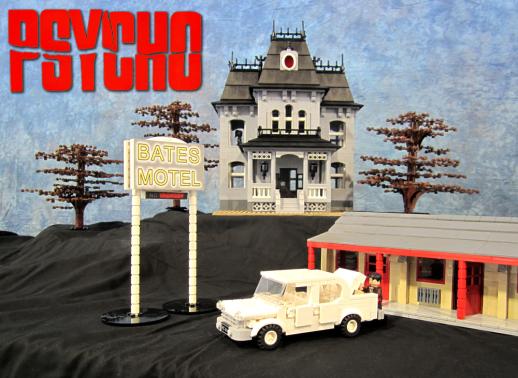 Psycho Movie Scene