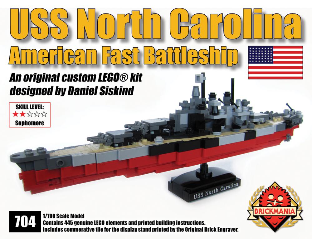 Uss North Carolina Kit Brickmania Blog