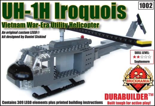 """UH-1H Iroquois """"Huey"""" Kit   Brickmania Blog"""