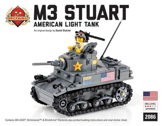 M3A1 Stuart Cover