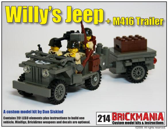 Willys Jeep Kit Brickmania Blog