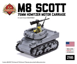 M8 Scott - 75mm Howitzer Motor Carriage
