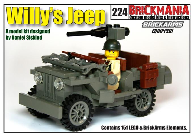 Willys Jeep Brickmania Blog