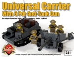 Universal Carrier with 6 Pounder