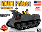 M7B1 Priest 105mm HMC