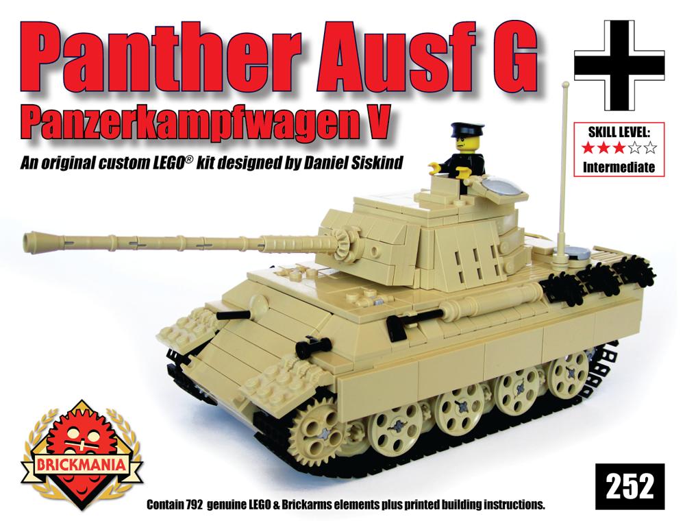 Panzerkampfwagen V Panther Tank Brickmania Blog