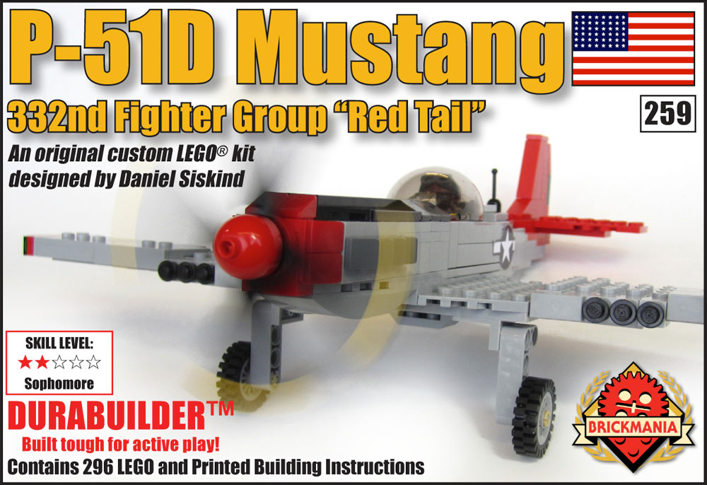"""P-51D Mustang - 332nd Fighter Group """"Red Tail"""""""