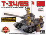 T-34/85 Battle Pack Cover