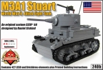M3A1Stuart Light Tank