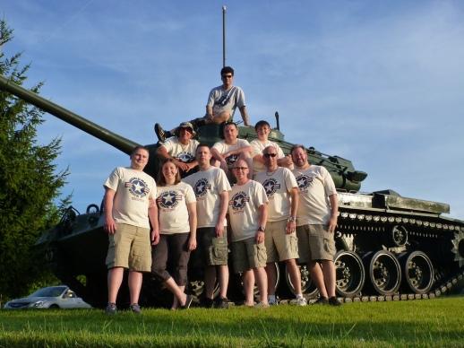 World War Brick 2012 Crew