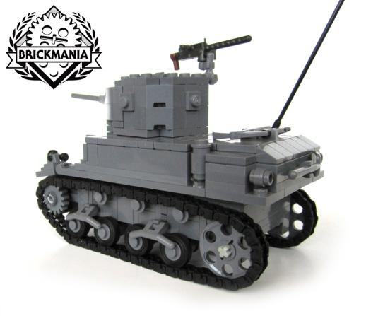 M3A1 Stuart Light Tank