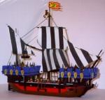 Medieval Galley Ship