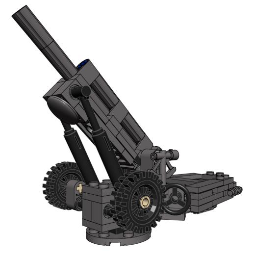 M102 in Firing Position