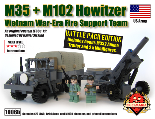 M35 & M102 Howitzer Battle Pack