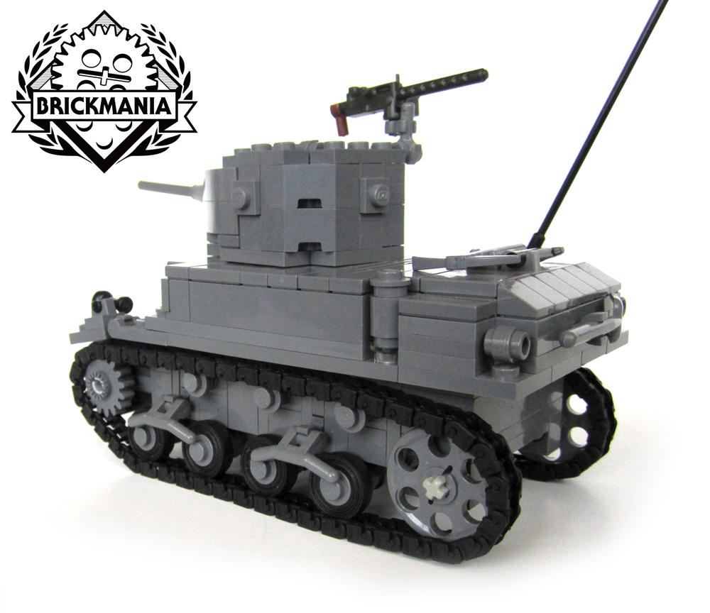 Army Tanks For Sale >> M3A1 Stuart Light Tank Kit Now Back in Stock | Brickmania Blog