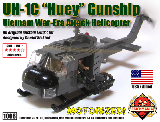 Premium Motorized Uh 1c Huey Gunship Tbr May 16th