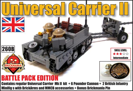 260 B Universal Carrier II Battle Pack
