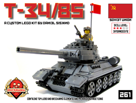 BKM261 T-34/85 Kit Cover
