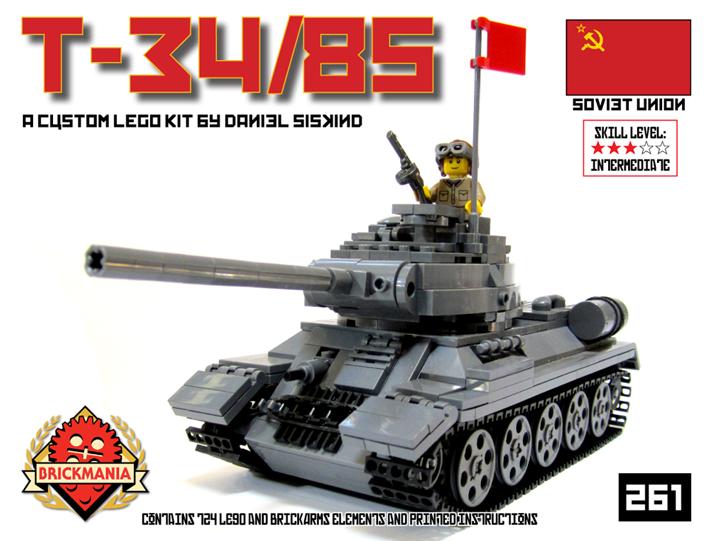 BKM261 T-34/85 Kit Cover