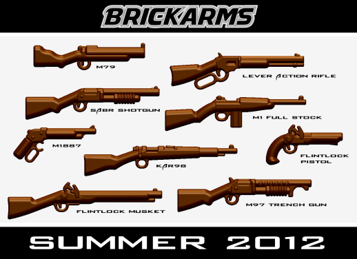 BrickArms Summer 2012 Releases