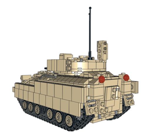 M2/M3 Bradley Rear