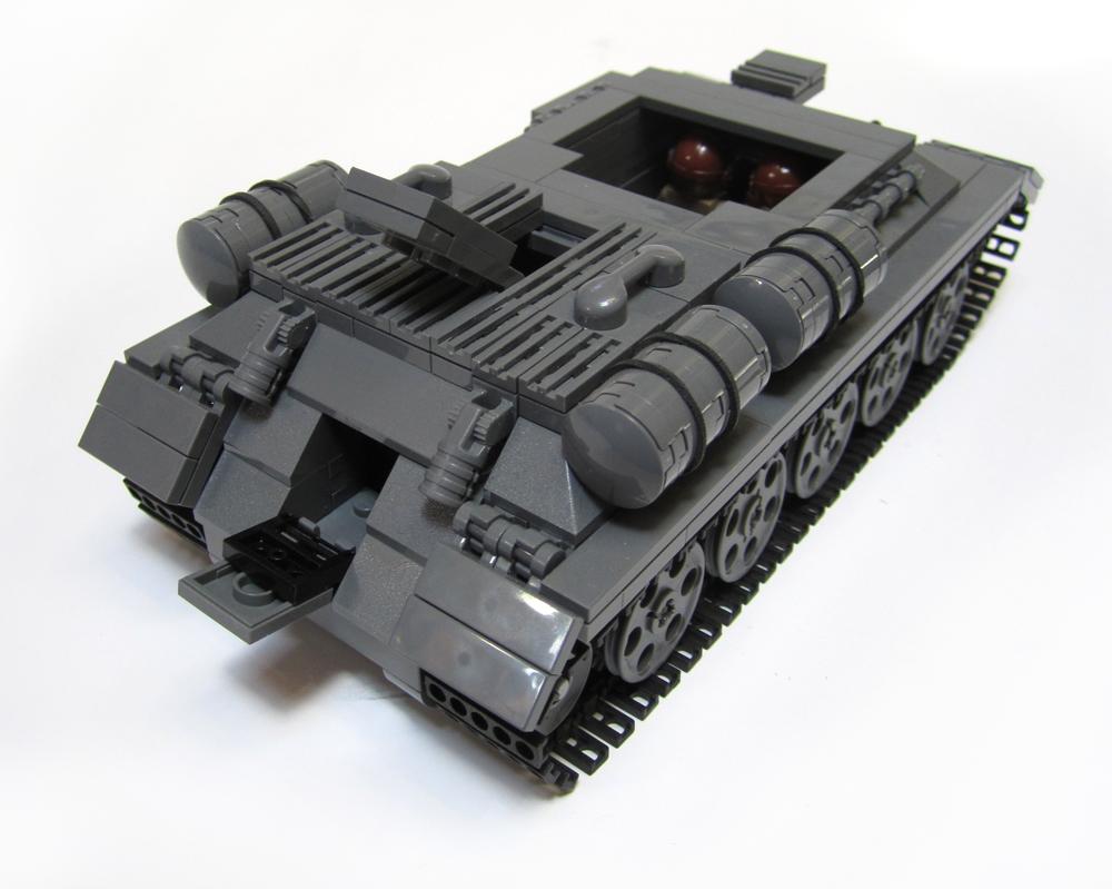 Brickmania Relea...T 34 Tank Interior