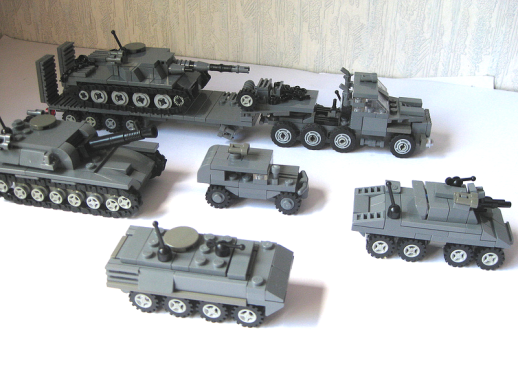LEGO Army Vehicles submited images.