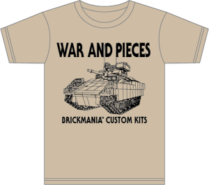 Brickmania blog winners aren 39 t born they 39 re built page 81 for Built for war shirt