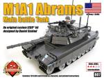 BKM807 M1A1 Abrams Dark Gray