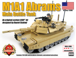 BKM 808 M1A1 Abrams Tan Cover