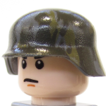 BrickArms Stahlhelm with Camouflage Print