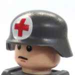 BrickArms Stahlhelm with Red Cross
