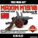 Maxim M1910 Machine Gun