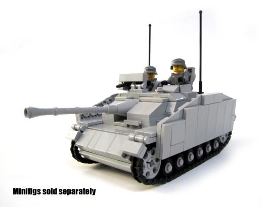 BKM254 StuG III AusfG with Figs