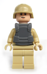 Tan Modern Combat Soldier