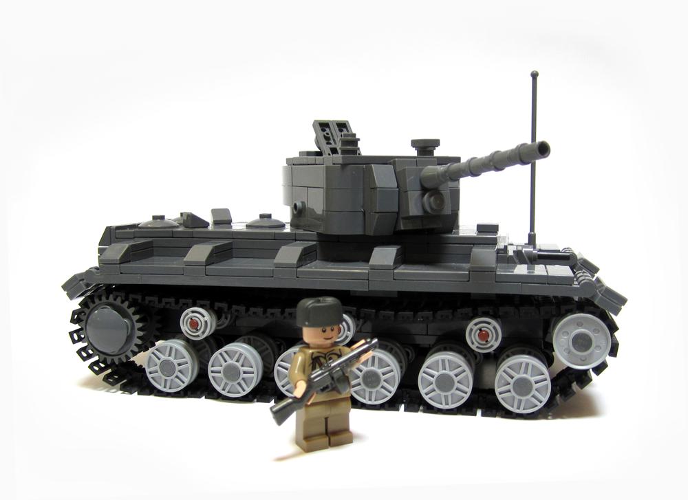 kv 1 heavy tank kits now available brickmania blog. Black Bedroom Furniture Sets. Home Design Ideas