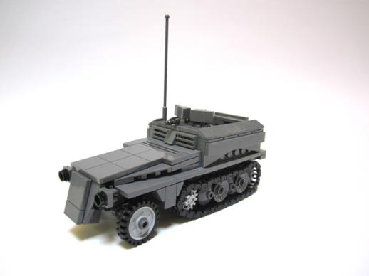 SdKfz 250/1 Ausf A