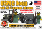 274 Jeep M3 37mm Anti-Tank Gun