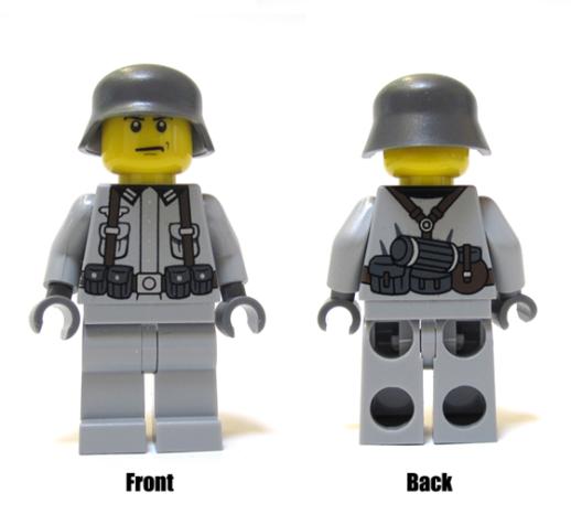 New WWII German Army Minifigs, US Medic Helmet & More
