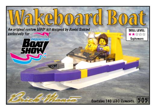Wakerboard Boat