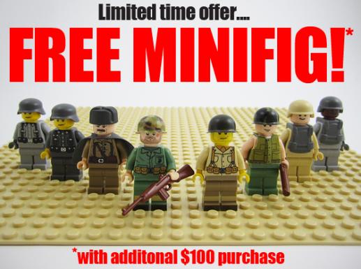 Free  Minifigs