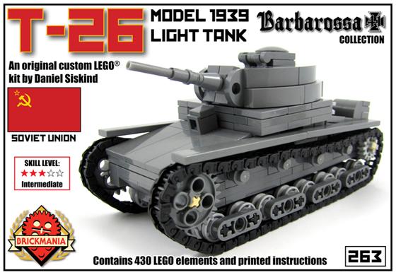 New Release T 26 Light Tank Brickmania Blog