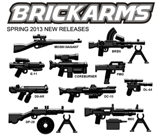 BrickArms New Releases