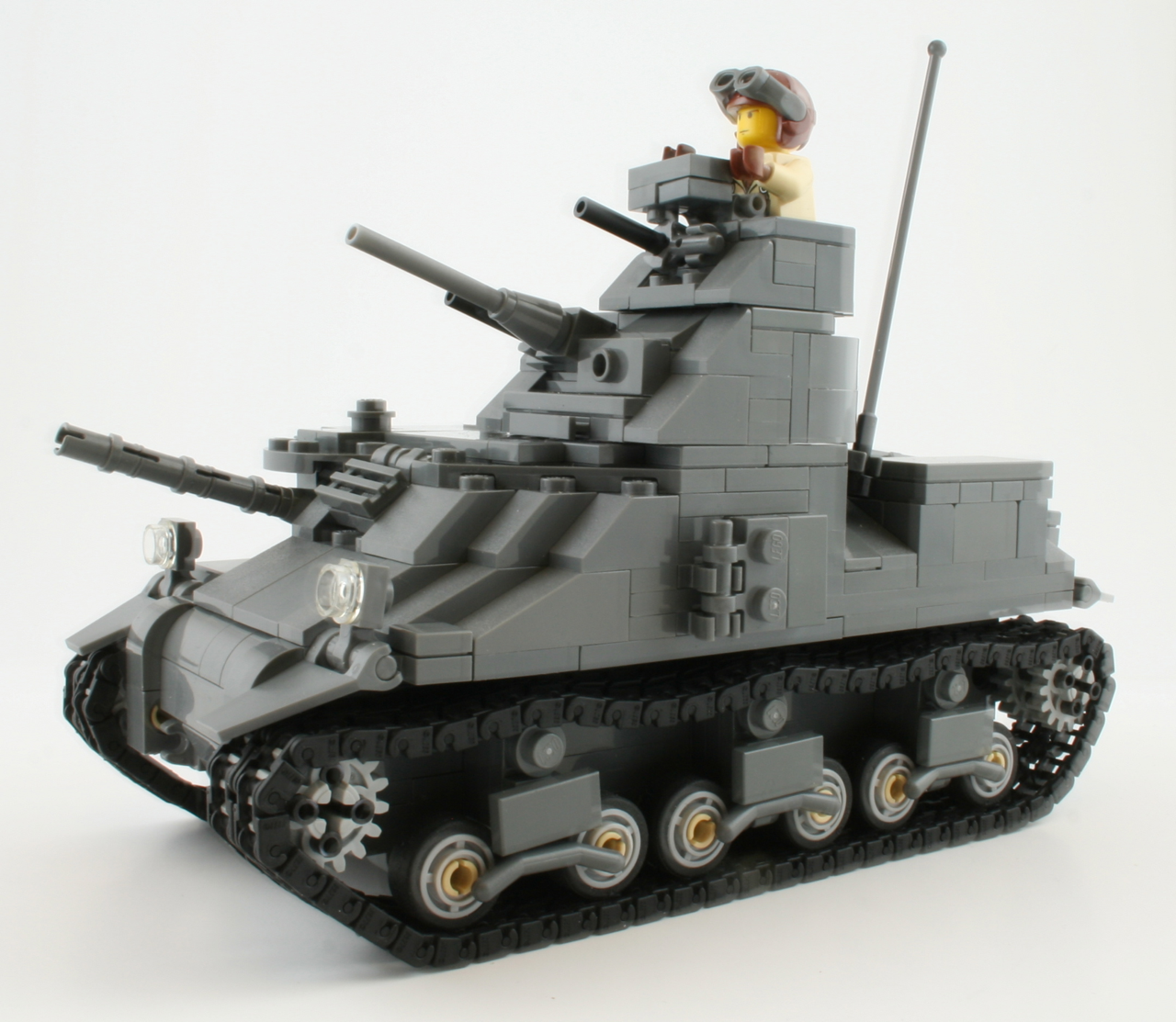 M3 Lee Medium Tank Prototype Model Preview Brickmania Blog