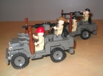 Rat Patrol Jeeps by Ron Blair
