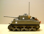 Sherman M4A3 with T23 Turret by Ron Blair