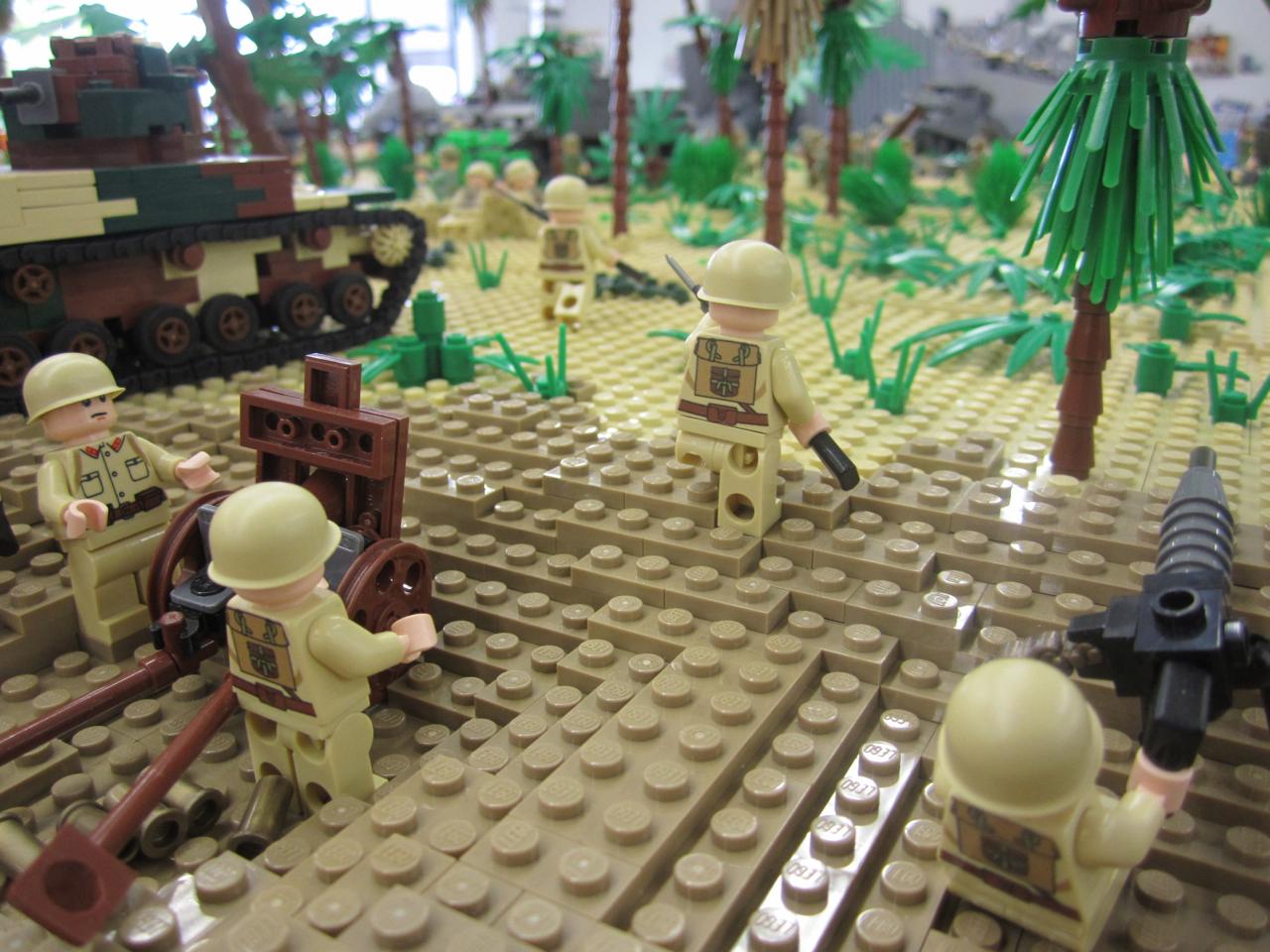 Peleliu Display 16 | Brickmania Blog