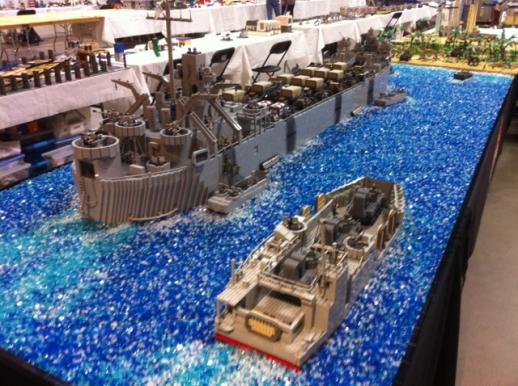 Peleliu Invasion at Brickworld 20135