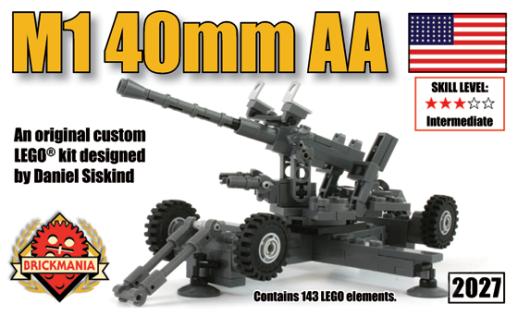 Anti-aircraft Gun Shell The m1 40mm Anti-aircraft Gun